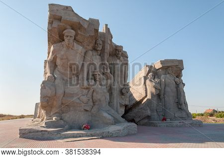 Kerch, Russia - July,14, 2020: Adzhimushkayskie Quarries - Underground Quarries In The City Of Kerch