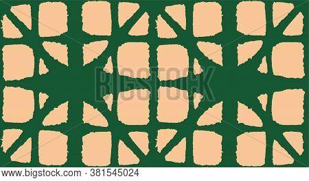 Japanese Tie Dye Seamless Pattern. Boho Curve Arc Pattern Bohemian Geometric Asian Tie Dye Texture.