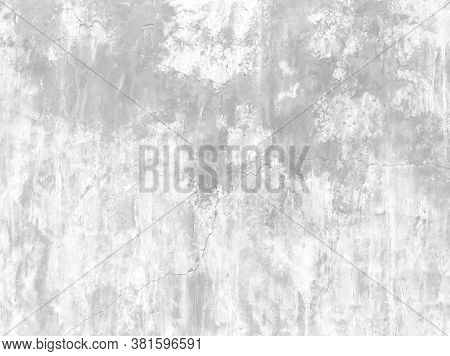 Soft White Grunge Cement Or Concrete Painted Wall Texture, White Cement Stone Concrete Plastered Stu