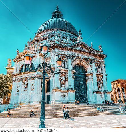 Venice, Italy - May 12, 2017 : Temple San Giorgio Maggiore (chiesa Di San Giorgio Maggiore), Located