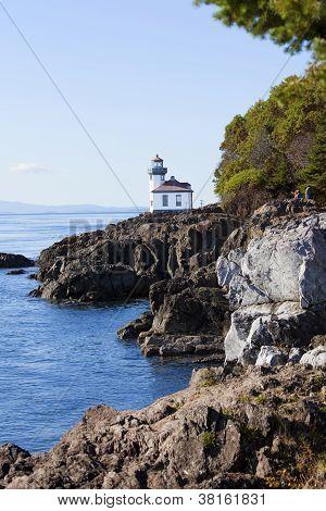 Coast Of San Juan Island, Washington State