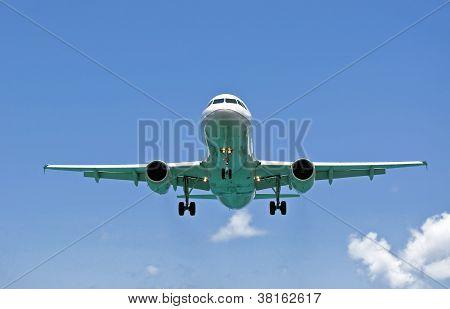 Air Transportation: Passenger Airplane.