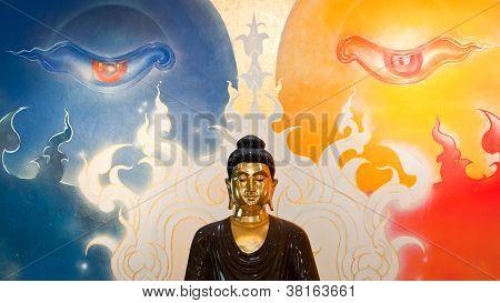 Buddha Enlightenment Statue
