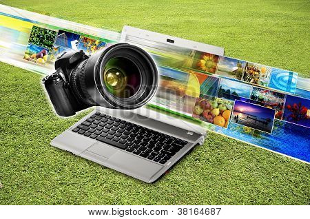 Photography & Image Sharing Concept