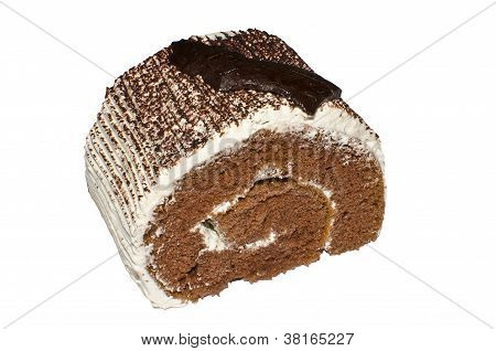 A Piece Of Chocolate Cake Roll