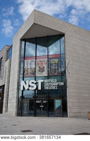 The Nst, Nuffield Southampton Theatres In Southampton, Hampshire In The Uk, Taken The 10th July 2020