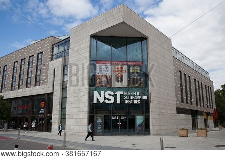 The Nst Theatre In Southampton, Hampshire In The Uk, Taken 10th July 2020