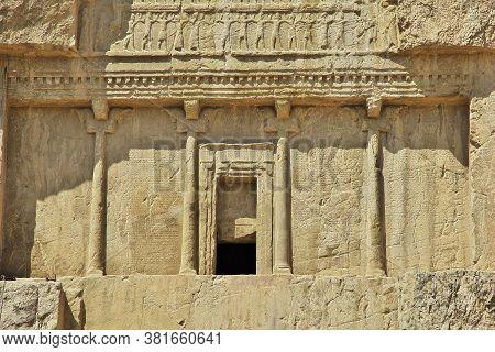 Nagsh-e Rostam Tomb And Necropolis In Persepolis, Iran