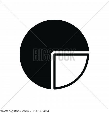 Black Solid Icon For Diagram Blueprint Ground-plan Layout Chart Draft Circular Graph Infrogaphics Pi
