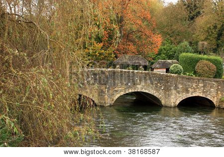 Old Bridge In Bibury