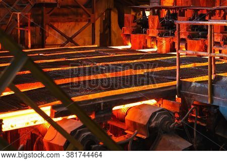 Hot Billet Bloom Continuous Casting, Also Called Strand Casting