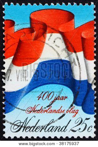 Postage stamp Netherlands 1972 Dutch Flag