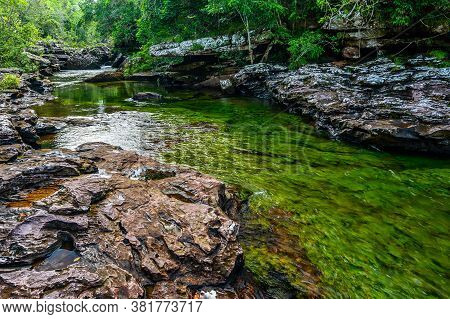 The Rainbow River Or Five Colors River Is In Colombia One Of The Most Beautiful Nature Places, Is Ca