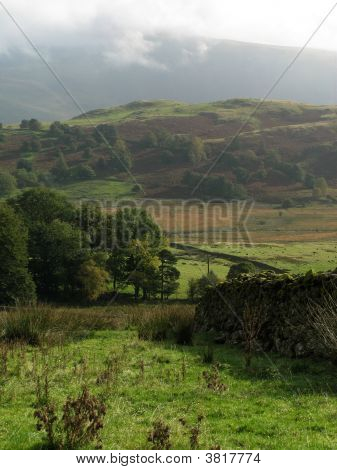 Lake District Scenery Portrait