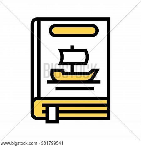 Legend Genre Color Icon Vector. Legend Genre Sign. Isolated Symbol Illustration