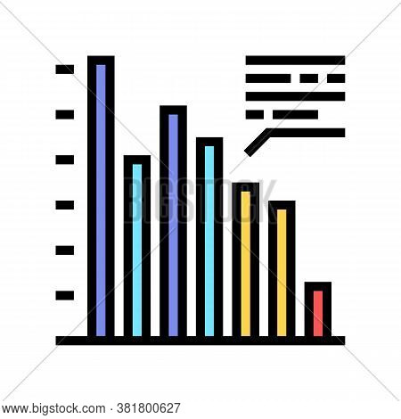 Profit Infographic Color Icon Vector. Profit Infographic Sign. Isolated Symbol Illustration