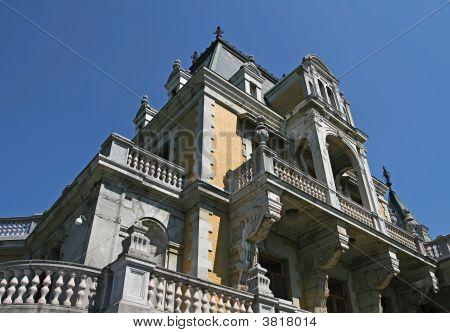 The Massandra Palace near Yalta. Crimea Ukraine. poster