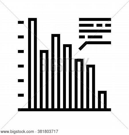 Profit Infographic Line Icon Vector. Profit Infographic Sign. Isolated Contour Symbol Black Illustra