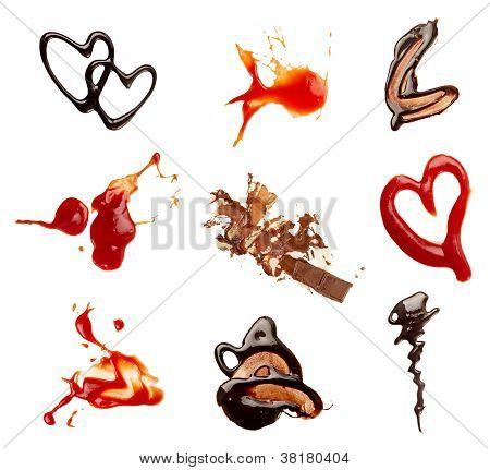 Ketchup Chocolate Coffee Wine Food Stains