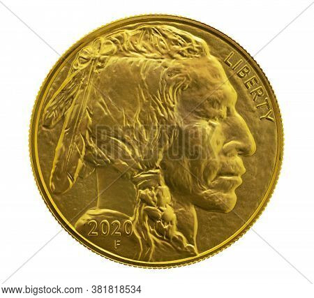 Gold Indian Head 1 Oz. Coin Used As An Inflation Hedge In Times Of Insecurity