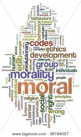 Moral Wordcloud
