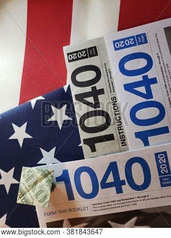 1040 Form For The Year 2020 Is What Individual Taxpayers Use To File Their Taxes With The Department