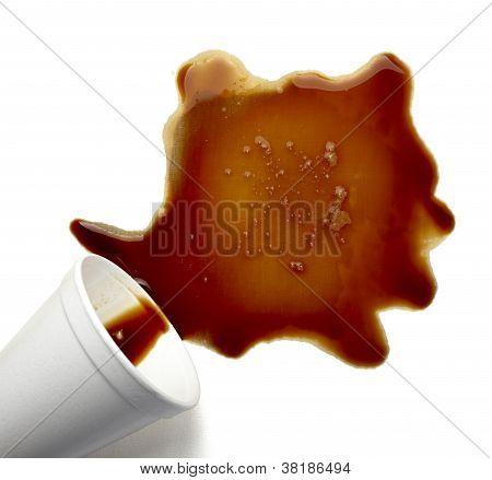 Coffee Drink Beverage Splashing Stain Dirty