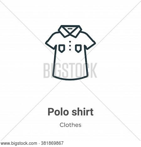 shirt icon isolated on white background from clothes collection.  shirt icon trendy and modern  shir