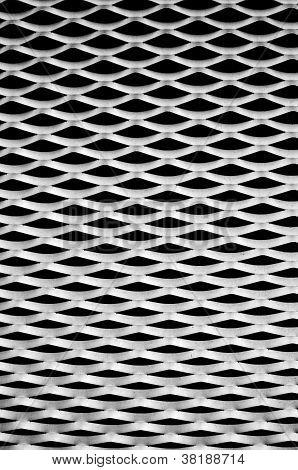 Wavy aluminum background