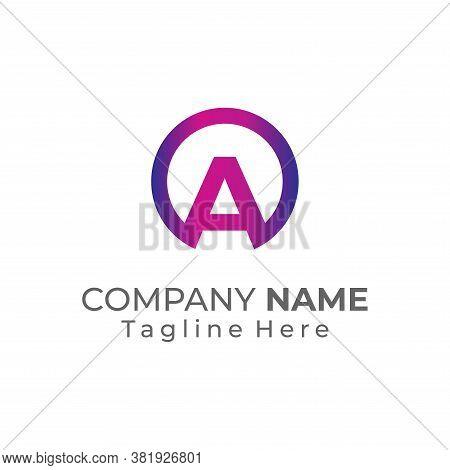 A Logo, A Logo Design, Initial A Logo, Circle A Logo, Real Estate Logo, Letter A Logo, A Logo Concep
