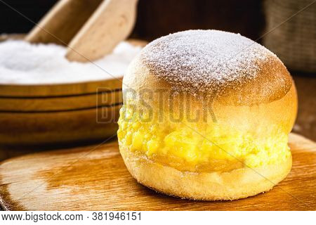 Bread With Cream And Sugar, Brazilian Donut Called