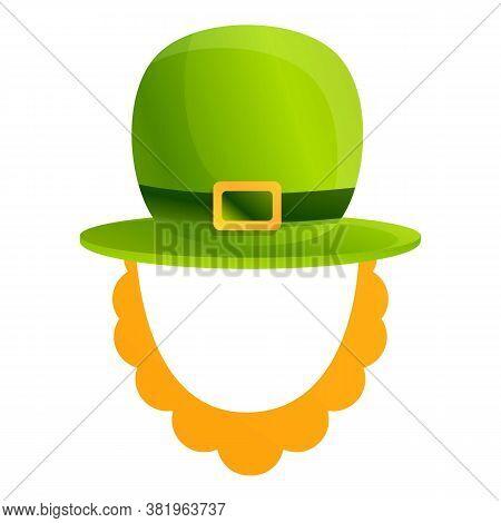 Ireland Patrick Hat Icon. Cartoon Of Ireland Patrick Hat Vector Icon For Web Design Isolated On Whit