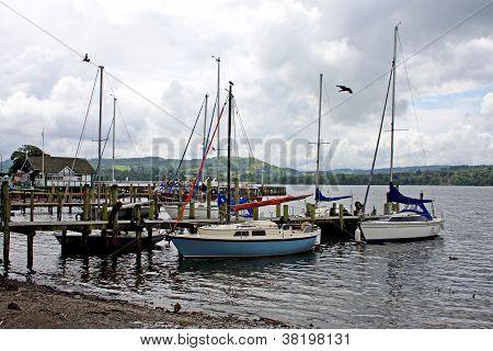 Yachts at Ambleside