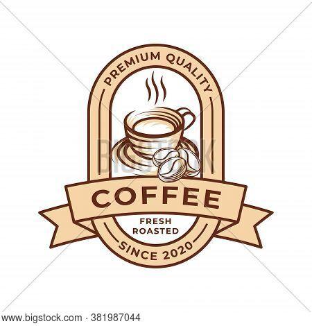 Coffee. Coffee Logo. Coffee vector. Coffee Logo vector. Coffee cup Logo. Coffee Shop logo. Coffee beans Logo. Coffee Logo design. Coffee Logo icon vector. Coffee Sign. Coffee Symbol. Trendy Coffee Cup Logo vector design illustration.