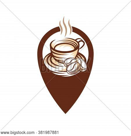 Coffee. Coffee Logo . Coffee vector. Coffee Logo  vector. Coffee cup Logo. Coffee Shop logo. Coffee beans Logo. Coffee Logo design. Coffee Logo icon vector. Coffee Sign. Coffee Symbol. Trendy Coffee Cup Logo vector design illustration.
