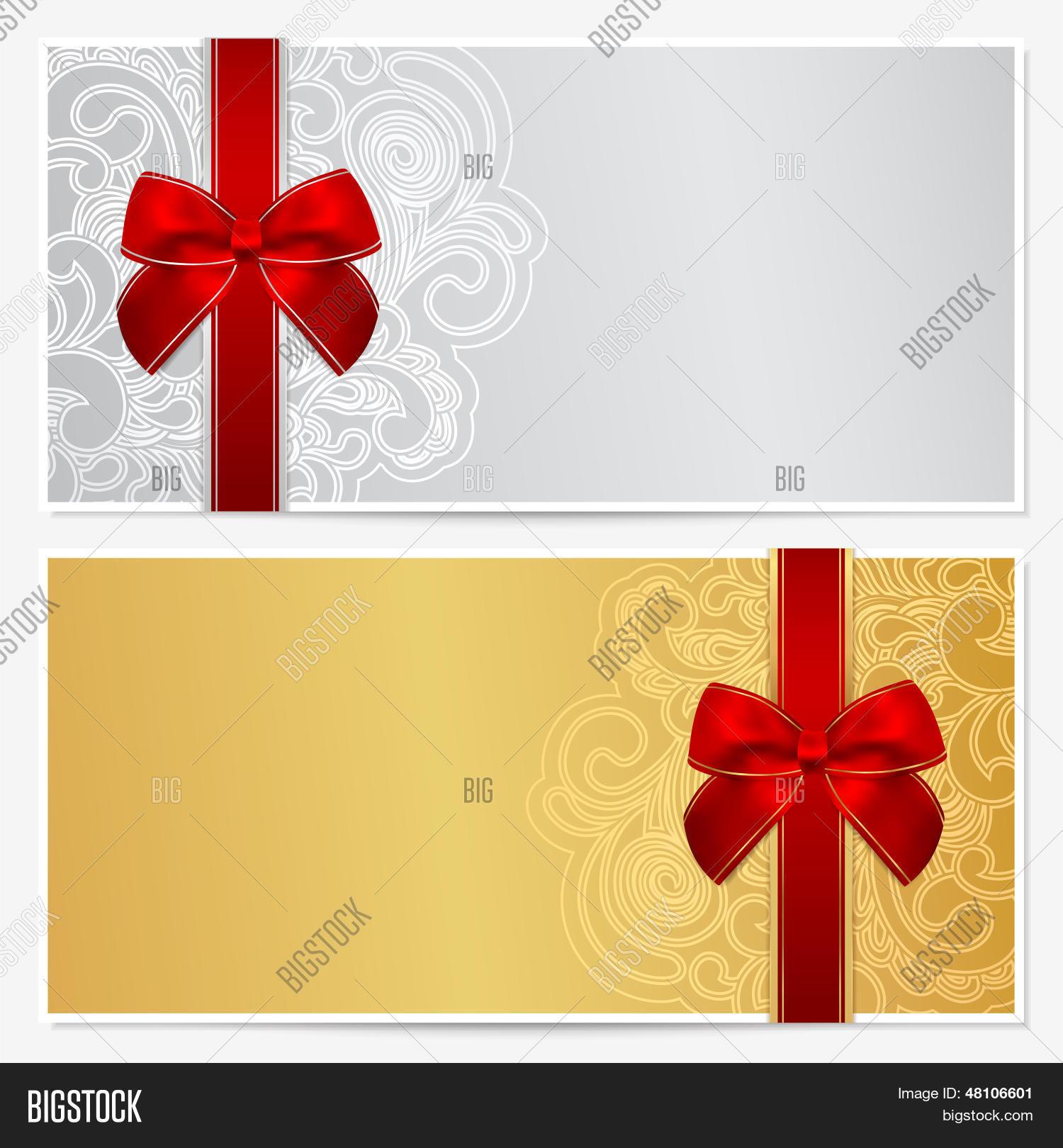 Vector y foto Vale / Regalo (prueba gratis)   Bigstock