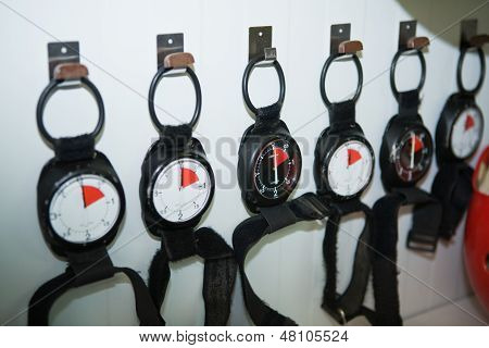 Altimeters Wall