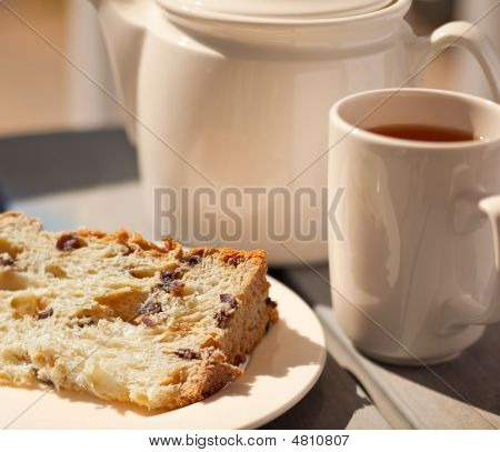 Tea And Fruitcake