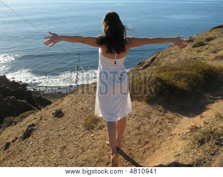 Girl Wanting To Fly