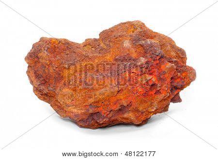 Iron ore - Hematite from Island of Elba, Italy.