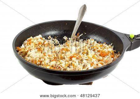 Rice Stuffing Pan
