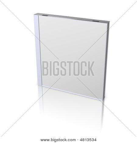 DVD or CD Box on a white background poster