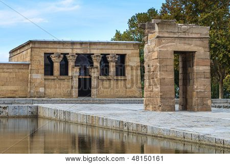 Madrid, Ancient Egyptian Temple Of Debod, Spain