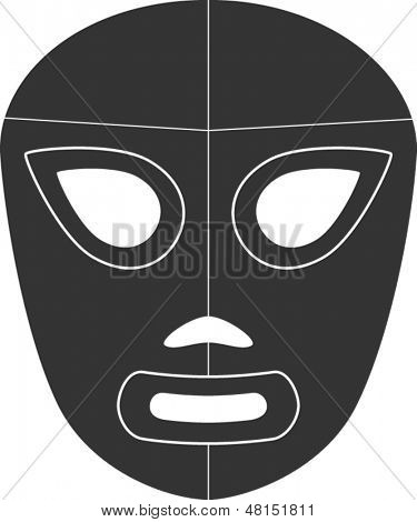 mexican wrestling mask symbol