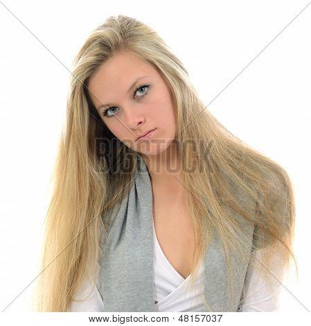 Serious Girl.