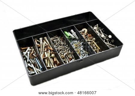 Nails, bolts, screws