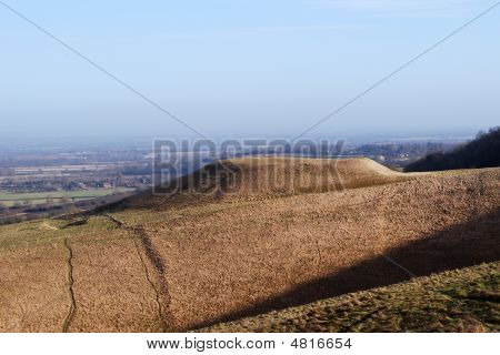 Dragon Hill, Oxfordshire, England