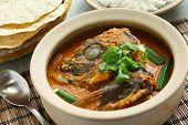 fish head curry, singaporean cuisine poster