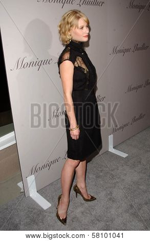 Emilie de Ravin  at the Grand Opening of Monique Lhuillier's New Boutique. Monique Lhuillier, Los Angeles, CA. 10-10-07