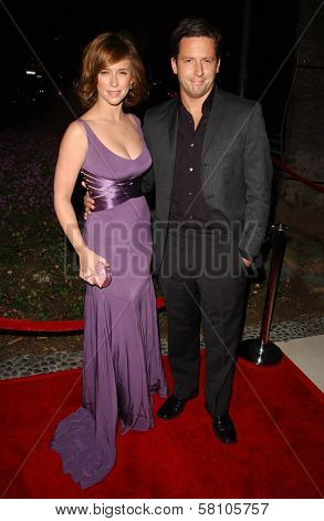 Jennifer Love Hewitt and Ross McCall at the  Sojourn Shelter Services 30th Anniversary Gala. Loews Santa Monica Beach, Santa Monica, CA. 10-13-07